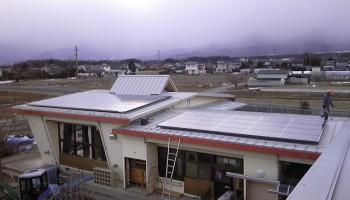 平成22年 南箕輪村西部保育園 太陽光設備工事