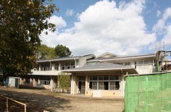 平成22年 南箕輪村南部小学校 太陽光設備工事